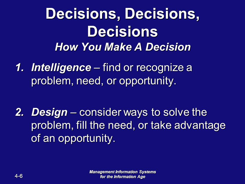 decision support and artificial intelligence This paper presents an overview of the impact of artificial intelligence techniques on the definition and development of environmental decision support systems (edss) during the last fifteen years.