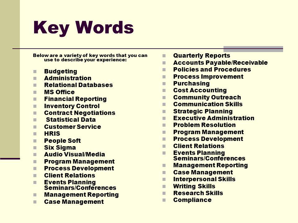 resume tutorial before you create your resume  brainstorm