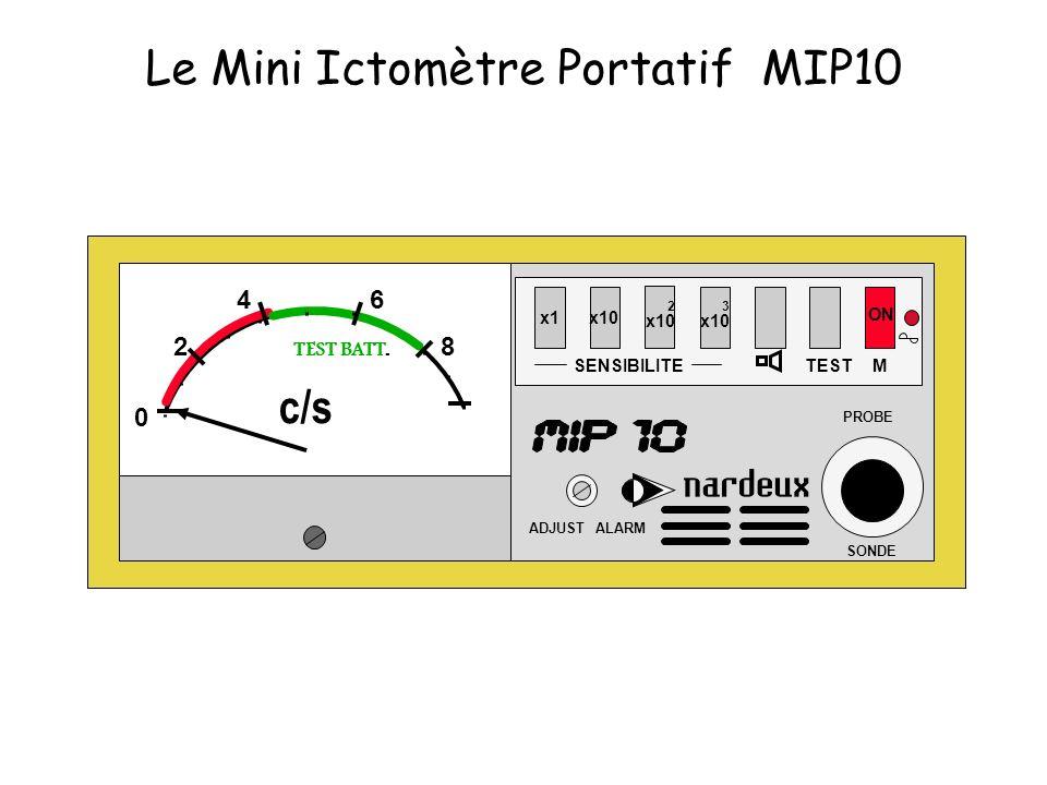 Le Mini Ictomètre Portatif MIP10