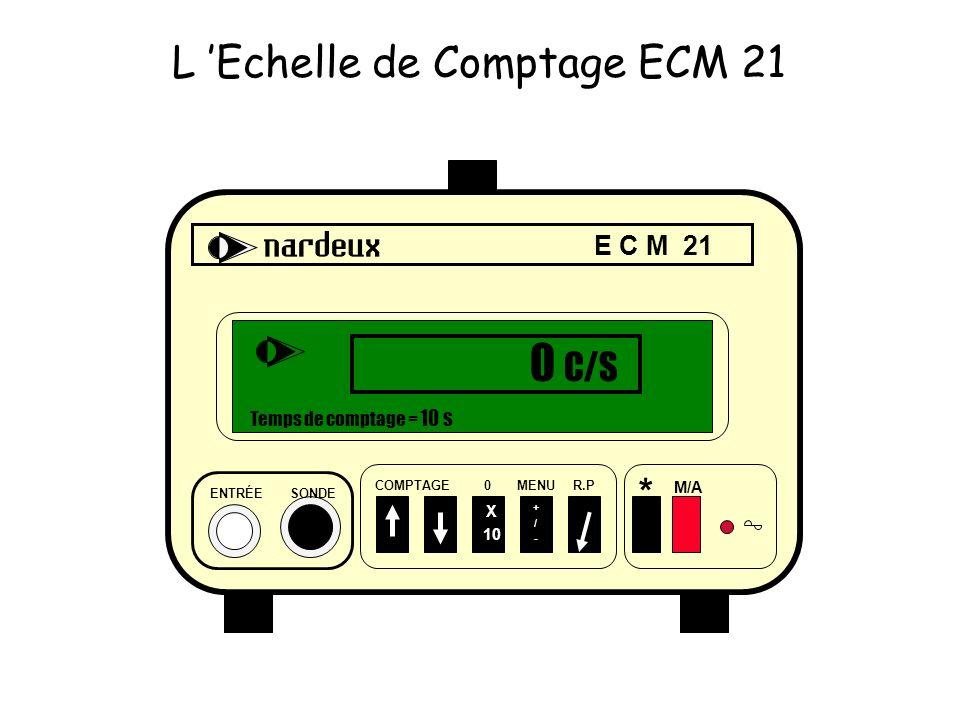 L 'Echelle de Comptage ECM 21