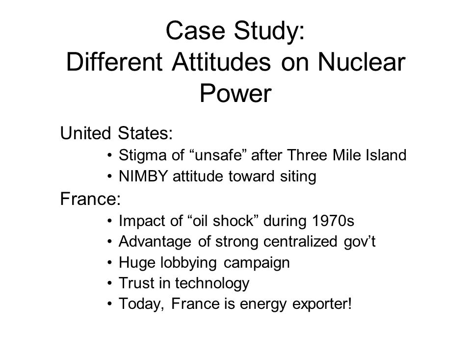 science case study on nuclear power Risk in the making: a case study of nuclear power in india after fukushima author: wong, catherine mei ling , catherinewongml@gmailcom science and technology abstract despite the long history of catastrophic accidents.
