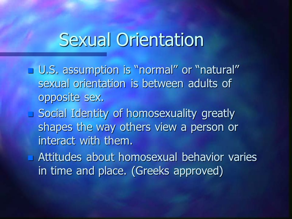 Are available? Christian views on sexual orientation