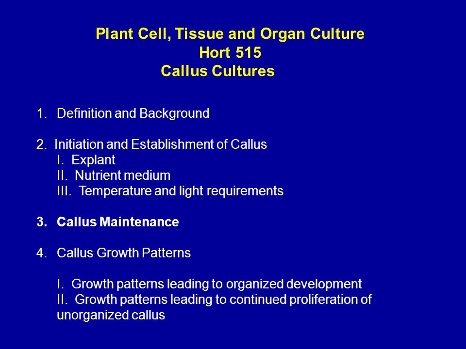 nutritional requirements of plant tissue culture 2011-7-25 b sc part-ii biotechnology (entire)  bte-306 plant tissue culture 40 10  culture medium-nutritional requirements of explant,.