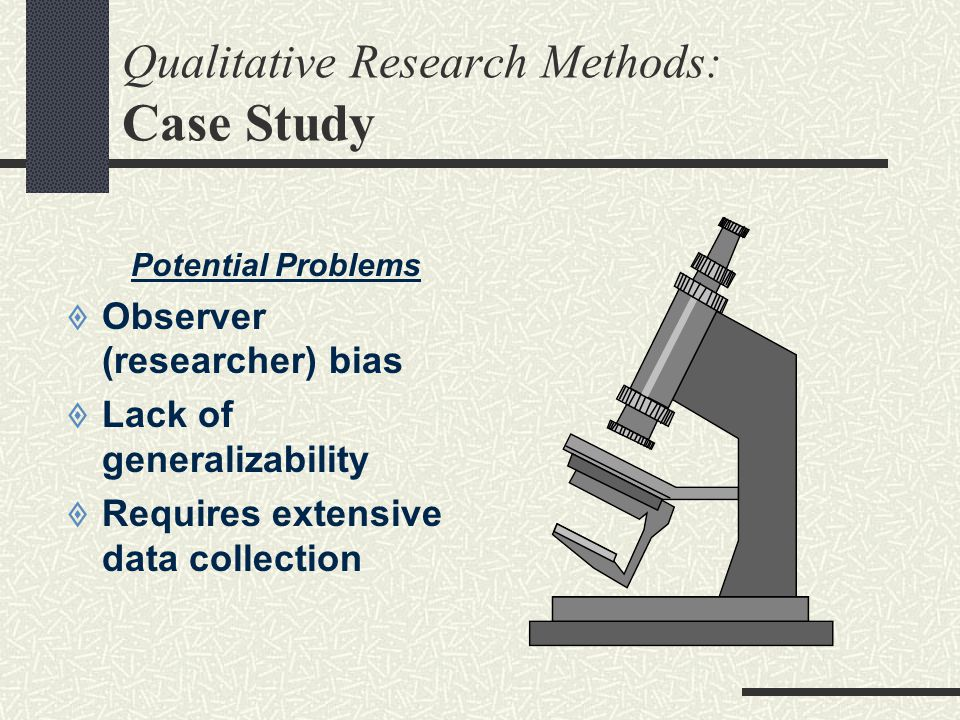 Qualitative Research Methods: Case Study