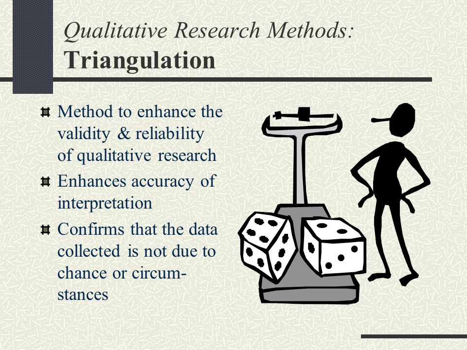Qualitative Research Methods: Triangulation
