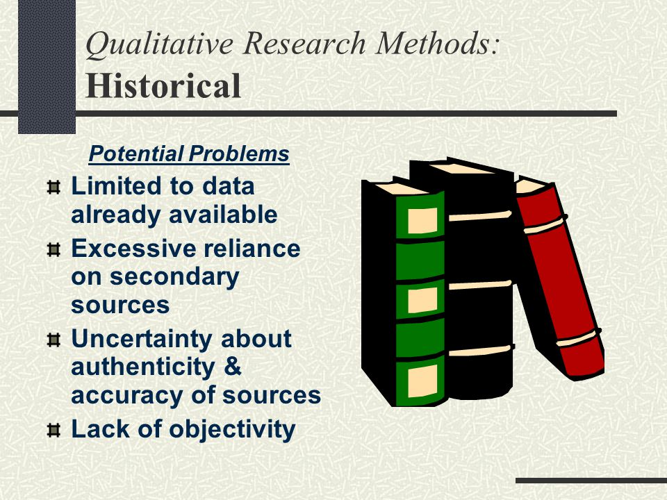 Qualitative Research Methods: Historical
