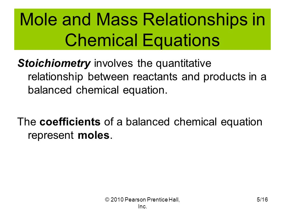 What Do The Coefficients In A Balanced Chemical Equation Always – Chemical Equations and Stoichiometry Worksheet