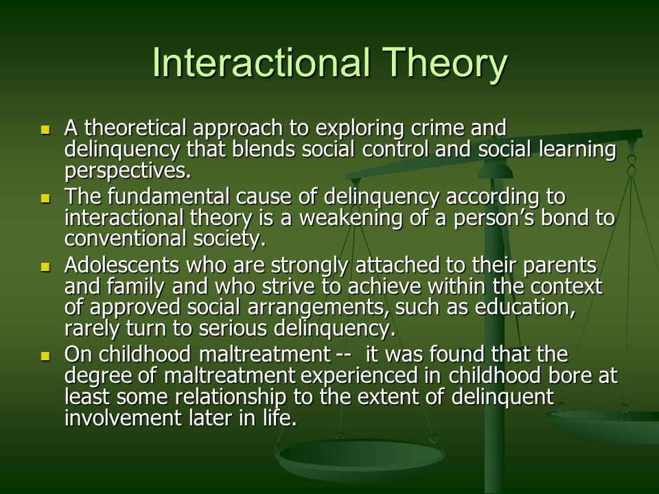 crime and delinquency control Juvenile delinquency defined and explained with examples criminal activities of  a minor child, or serious disobedience the parents cannot control.