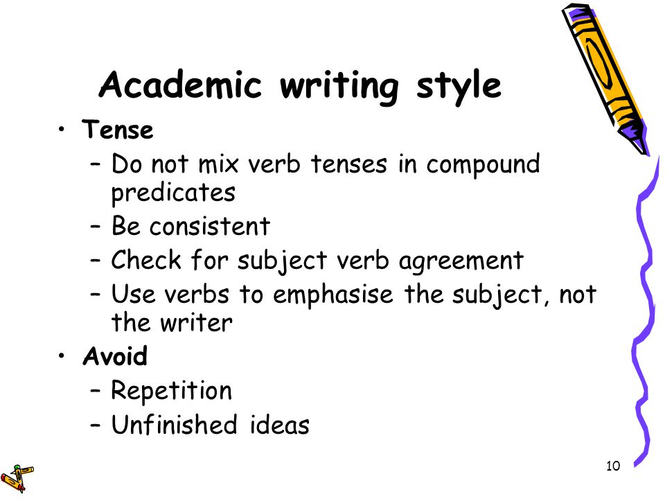 Academic Writing Style Pdf Writer