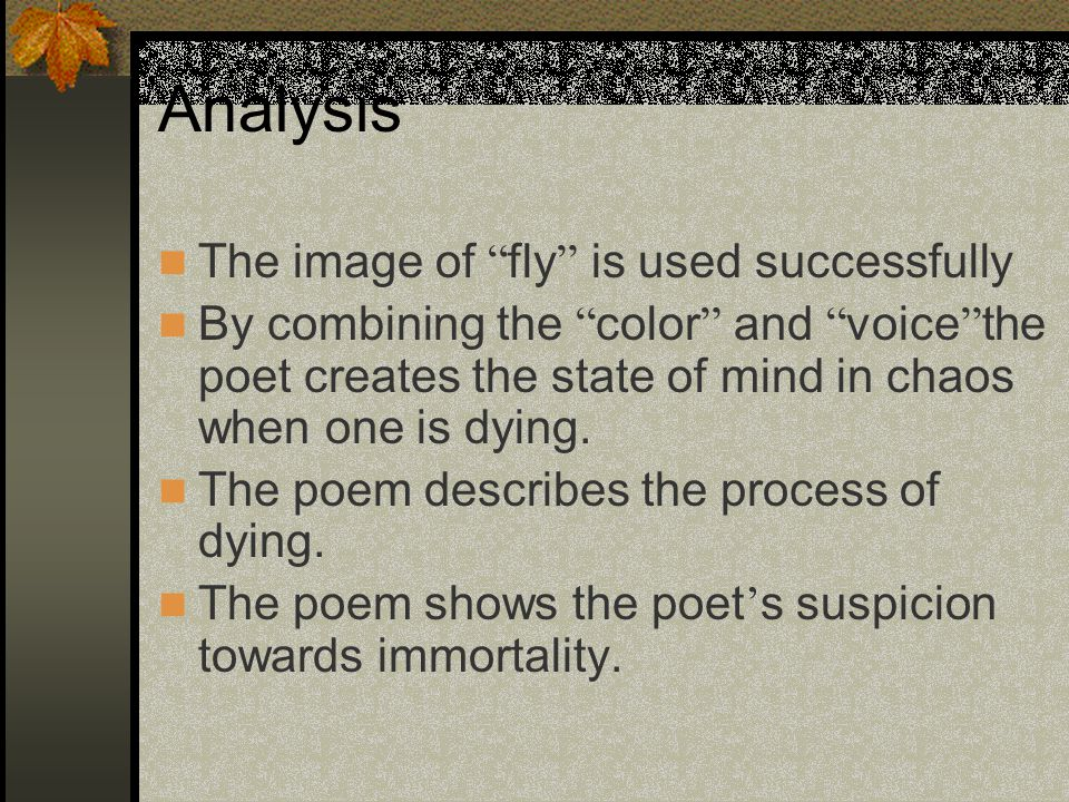 analysis of a poem death be Death, be not proud (holy sonnet 10) analysis lines 1-2 death, be not proud, though some have called thee  mighty and dreadful, for thou art not so the speaker immediately creates a personified version of death by talking directly to him.