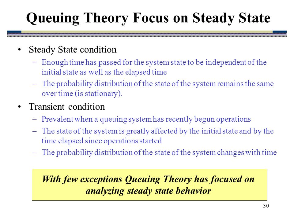 probability and queuing theory pdf