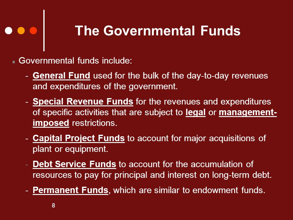 The Governmental Funds