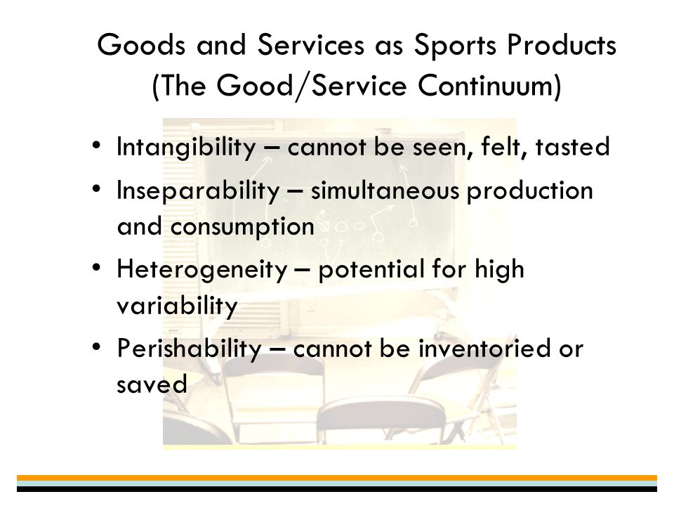 """production and consumption inseparability •inseparability (of production and consumption) •perishability services economy = post industrial = less-than-desirable economic activity  s-d logic the g-d logic problems """"fixes"""" s-d logic problems with goods logic goods are not why we buy goods •service (benefits) they render •intangibles (brand, self image, social."""