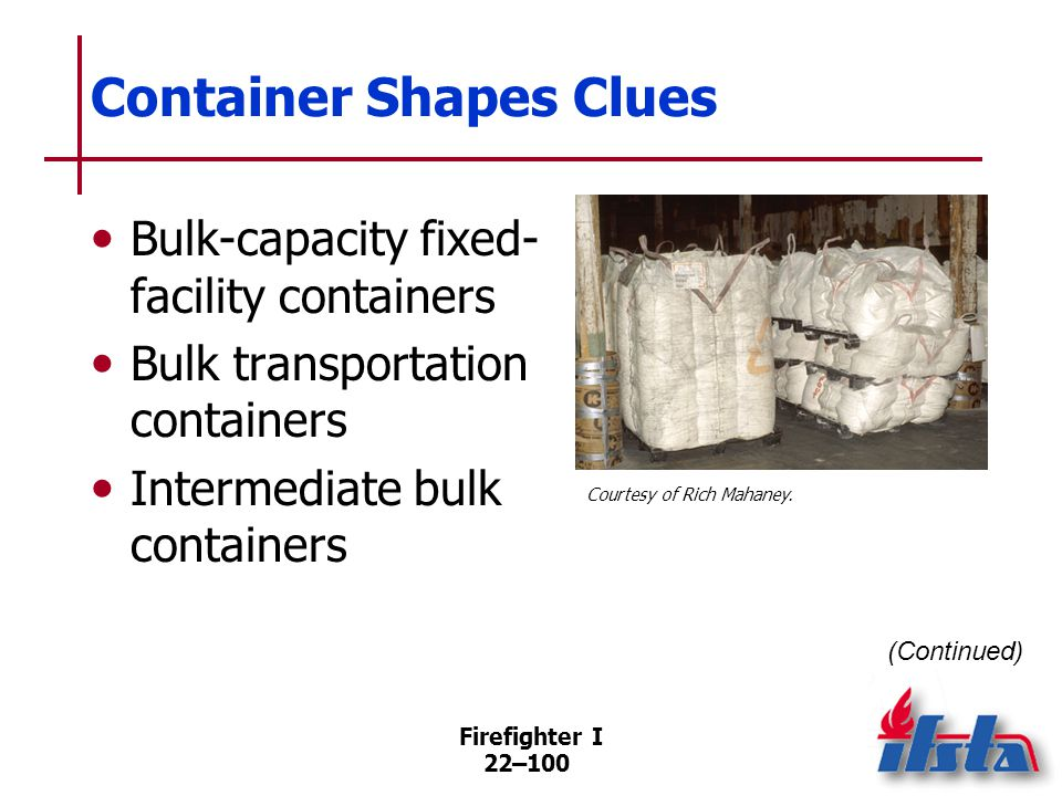 Container Shapes Clues