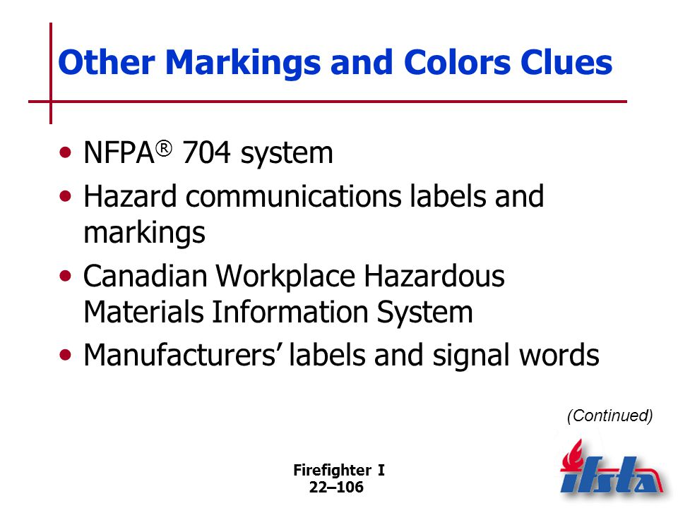 Other Markings and Colors Clues