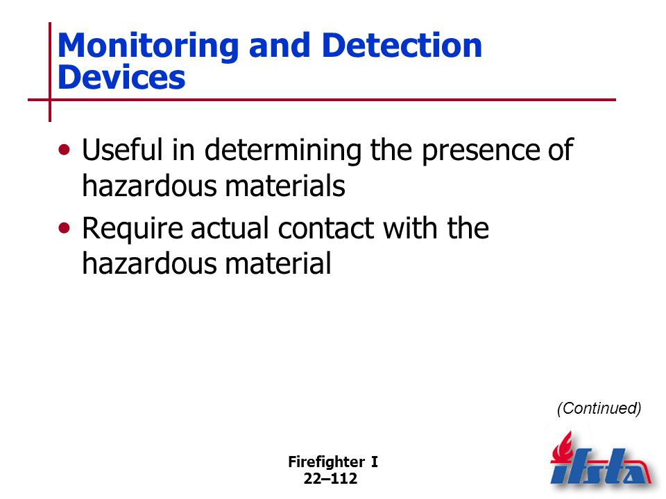Monitoring and Detection Devices