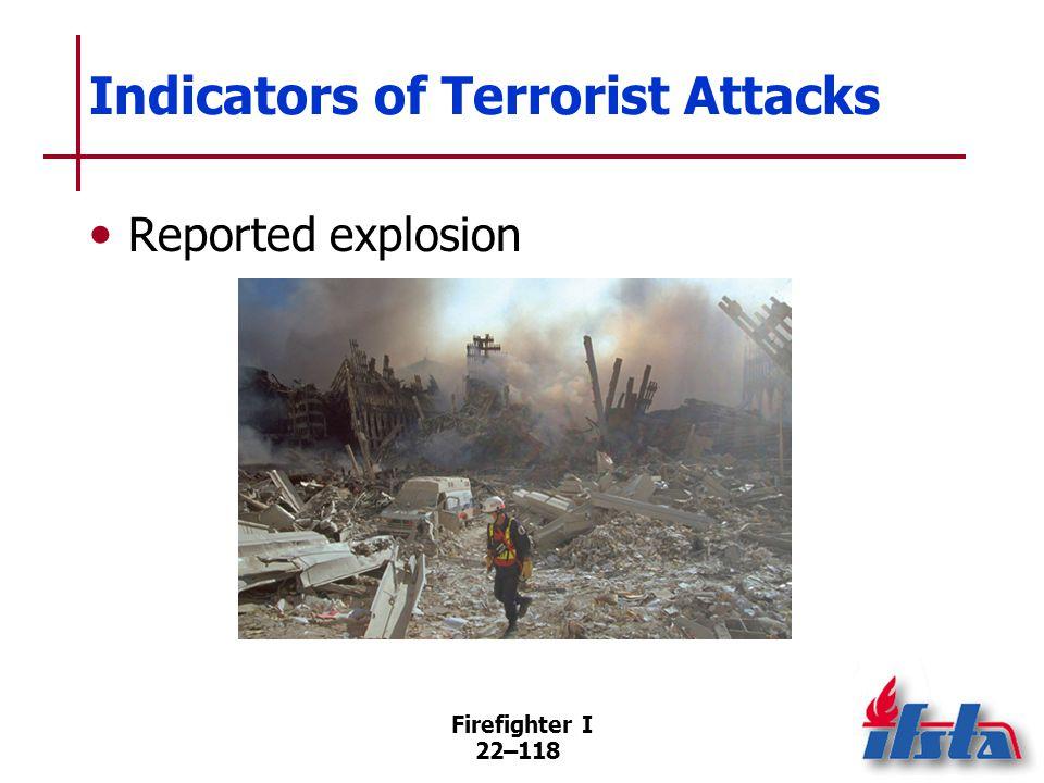 Types of Terrorist Attacks