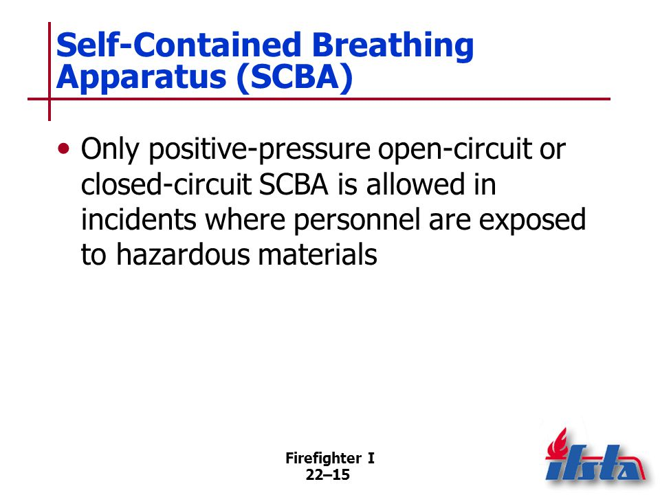Advantages of Self-Contained Breathing Apparatus (SCBA)