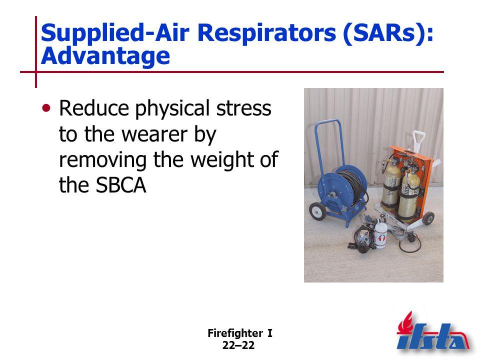 Supplied-Air Respirators (SARs): Disadvantages
