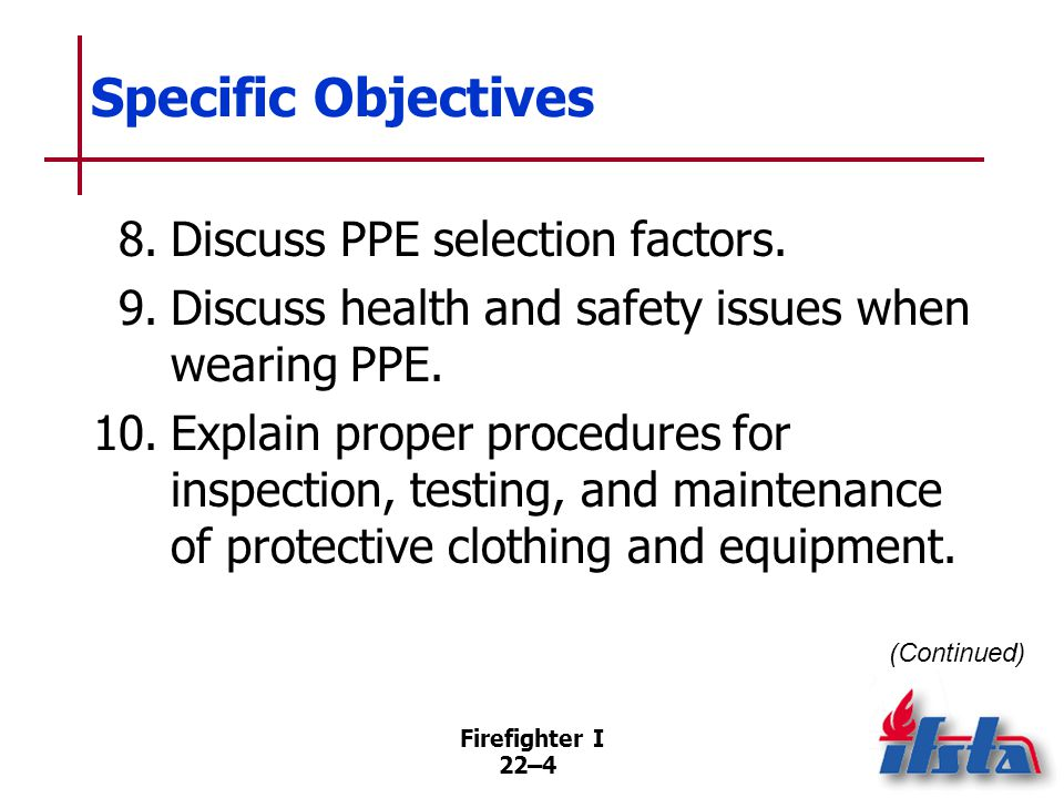 Specific Objectives 11. Describe health and physical hazards that may be present at haz mat incidents.