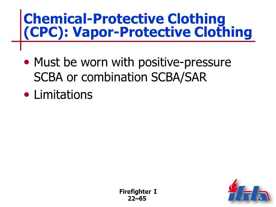 U.S. EPA Levels of Protective Equipment : Level A