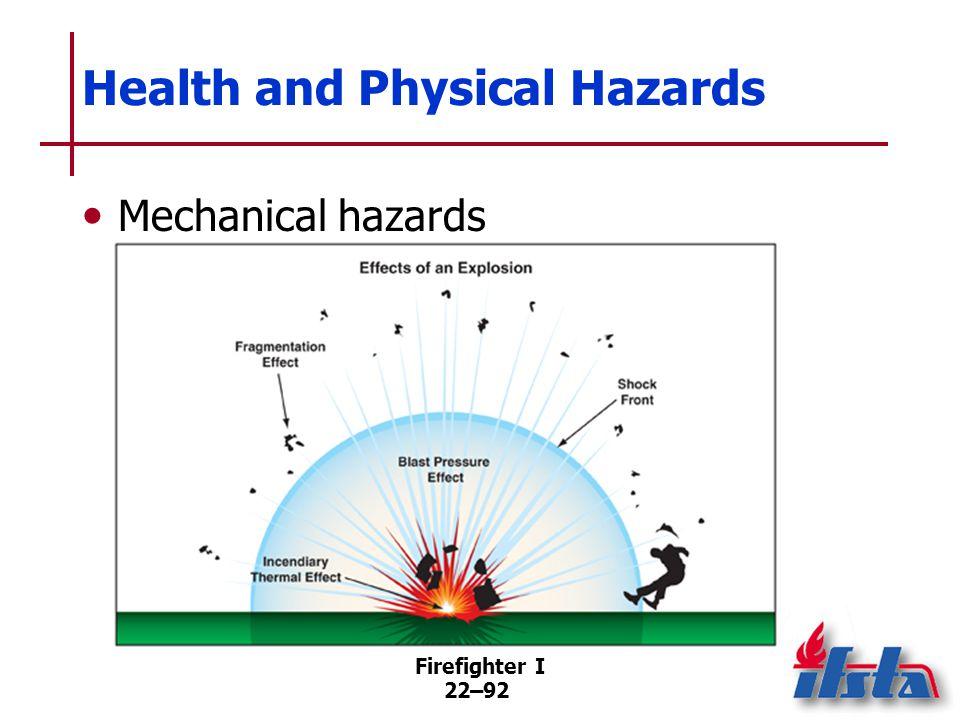 Physical Properties of Hazardous Materials
