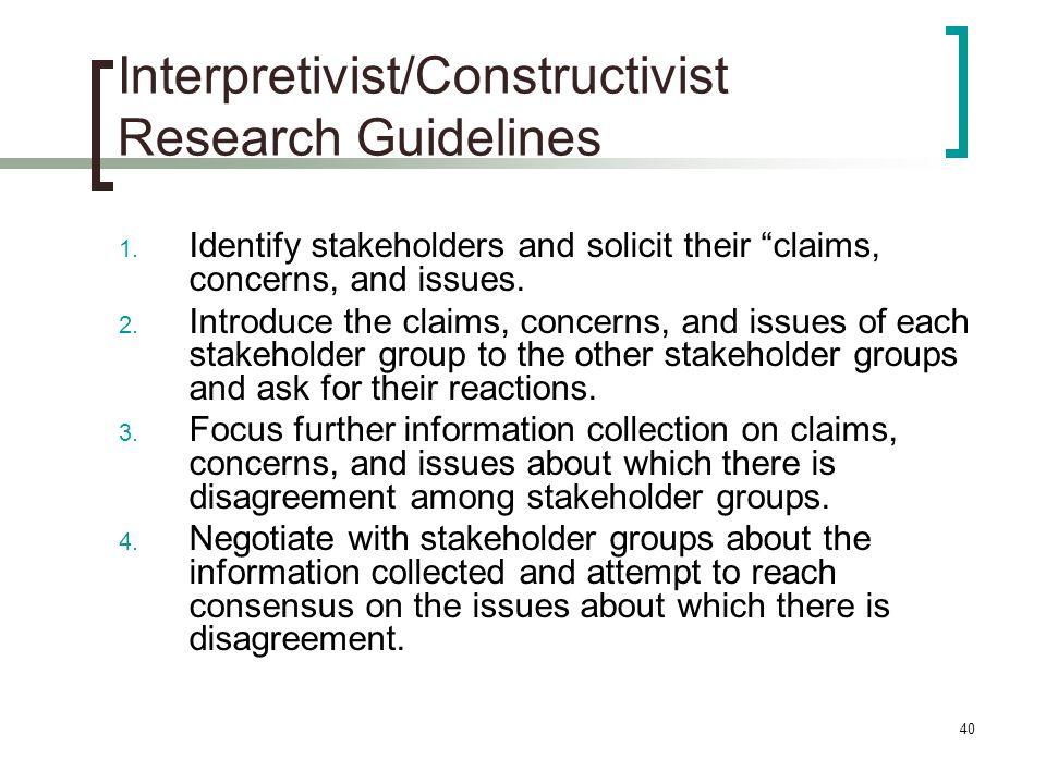 constructivist research