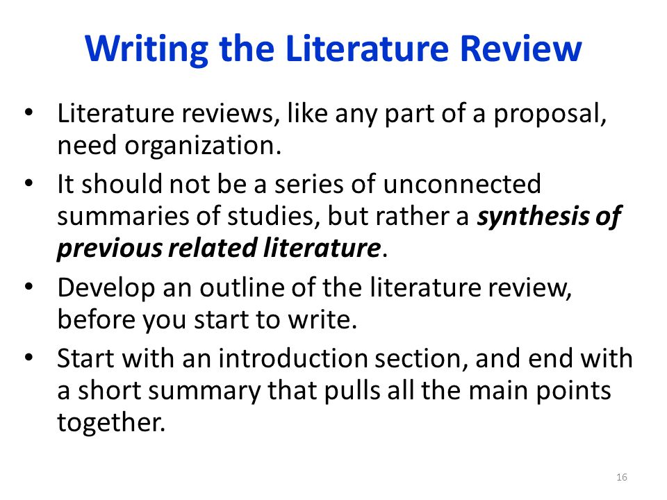 review of related literature and review A literature review surveys scholarly articles, books, dissertations, conference proceedings and other resources which are relevant to a particular issue, area of research, or theory and provides context for a dissertation by identifying past research.