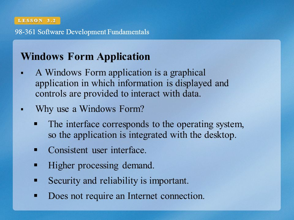 Windows Form Application