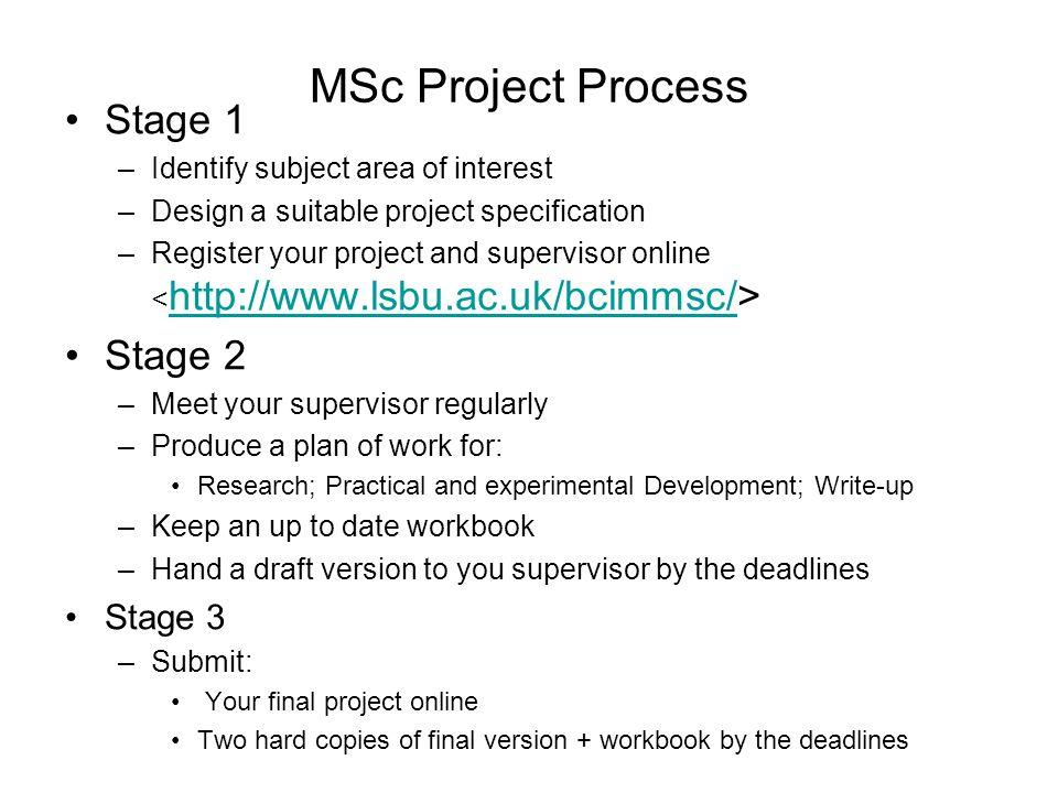 proposal for msc dissertation The msc thesis is the single most important piece of work  students must  present a short research proposal to the project co-ordinator (prof.