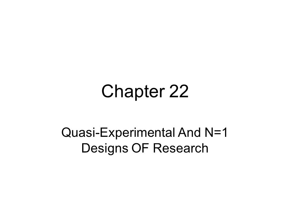 research proposal experimental and quasi experimental research Quasi-experimental designs: definition, characteristics, types  research designs: quasi-experimental,  quasi-experimental designs: definition, characteristics,.