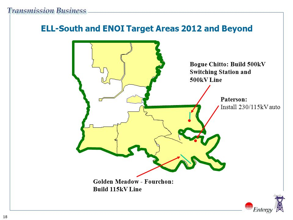 ELL-South and ENOI Target Areas 2012 and Beyond