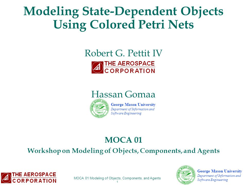 Modeling State-Dependent Objects Using Colored Petri Nets