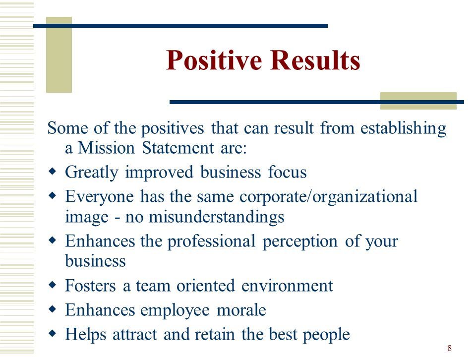 an analysis of mission statement of organizational goals and objectives Mission and vision statements play three critical roles: (1) communicate the purpose of the organization to stakeholders, (2) inform strategy development, and (3) develop the measurable goals and objectives by which to gauge the success of the organization's strategy these interdependent, cascading roles, and the relationships among them.