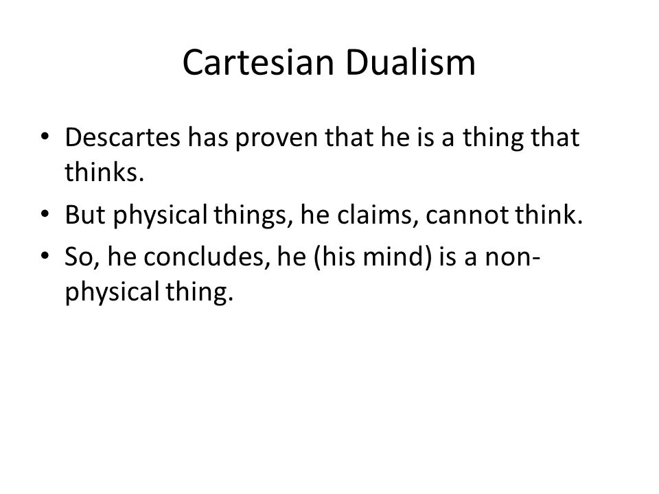 descartes problem of the cartesian circle The cartesian circle is a criticism of the above that takes this form: descartes' proof of the reliability of clear and distinct perceptions takes as a premise god's existence as a non-deceiver descartes' proofs of god's existence presuppose the reliability of clear and distinct perceptions.