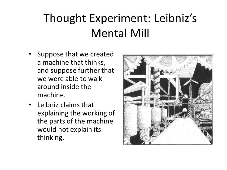 Thought Experiment: Leibniz's Mental Mill