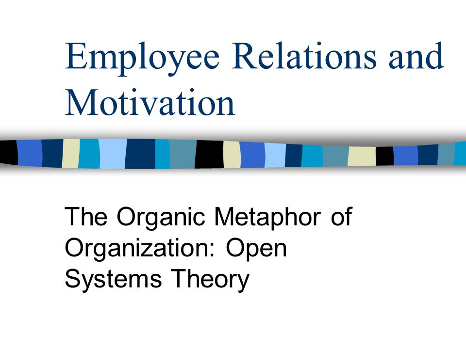 theories on employee relations Employee counseling we encourage employees to use the services of employee relations to resolve work-related concerns.