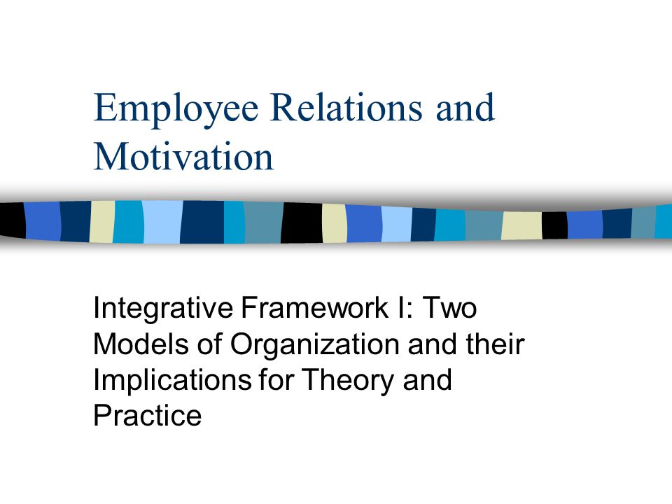 employment relations theories