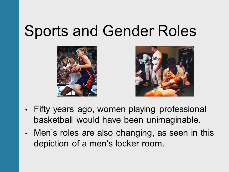 gender roles changed in the last years Traditional gender roles have changed over time in that female are no longer   that and attempt it doomed to failure, even if that failure takes year or centuries.
