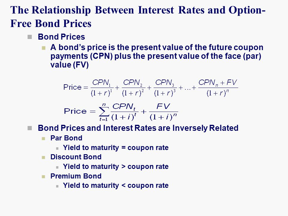 exchange rate and interest relationship with bonds