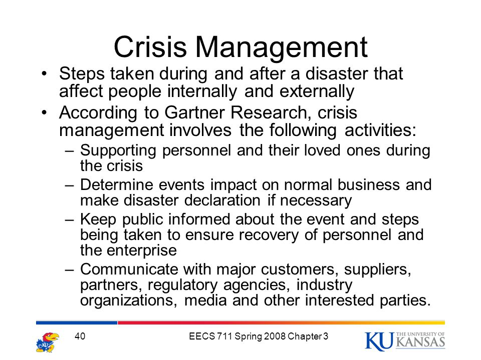crisis events management Event crisis management: protecting your conference in uncertain times sherry russ sills, cmp director, event operations ieee meetings, conferences & events (mce.