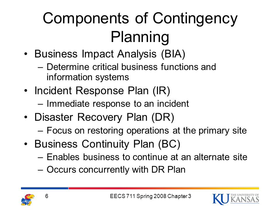 contingency plan and business impact analysis Every business is impacted by events, and a poor response to those events could, in extreme cases, result in the loss of the business learn what contingency planning.