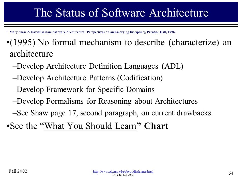 Software architecture ppt download for Anarchitecture definition