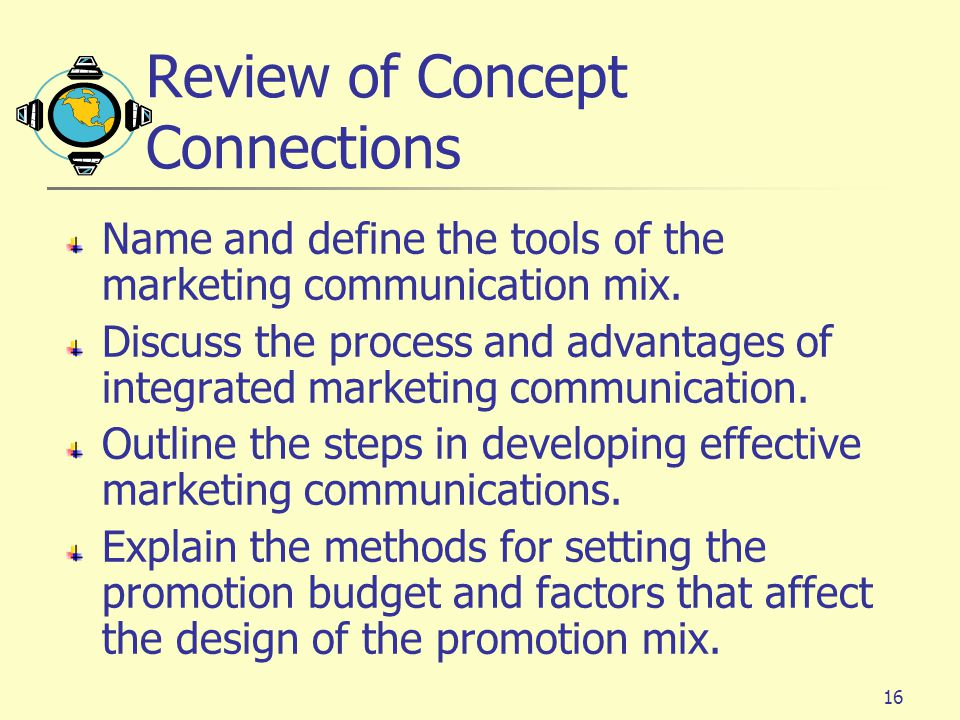 Review of Concept Connections