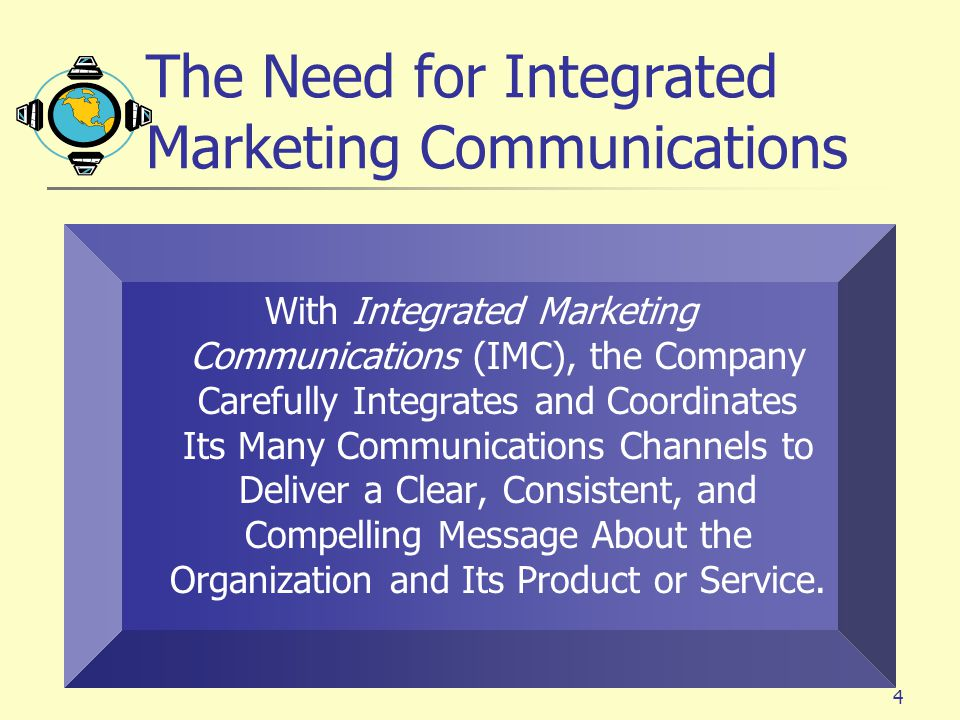 The Need for Integrated Marketing Communications