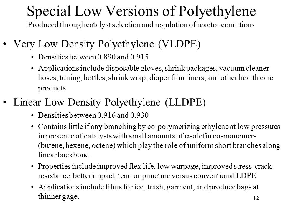 Low Density Polyethylene Ldpe : Classes of polymeric materials ppt download