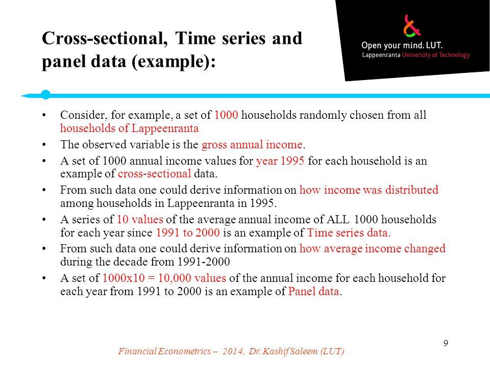 time series and panel data econometrics pdf