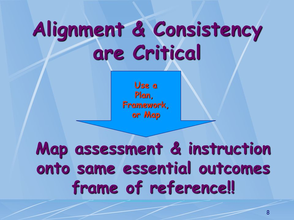 Alignment & Consistency are Critical