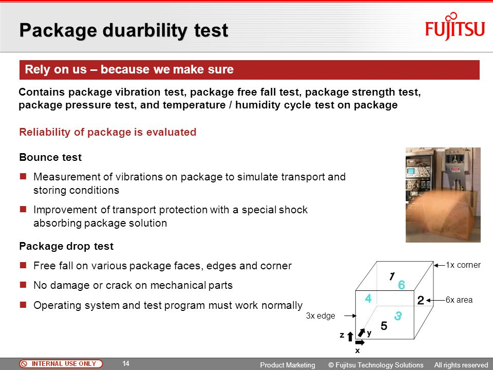 Package duarbility test