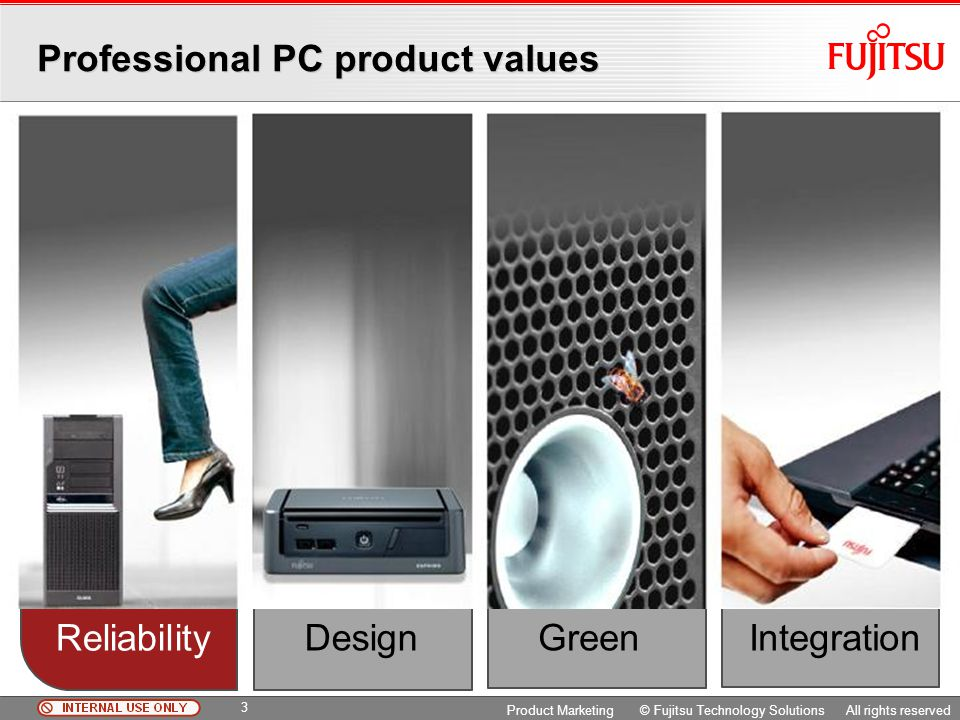 Professional PC product values